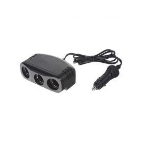 34504 trojitá CL zásuvka s kabelem 100cm a CL zástrčkou CL zásuvky a zástrčky