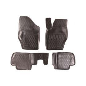 SIXTOL Gumové koberce Citroen C4 I Hatchback (LC) (04-10) (2D) SIXTOL