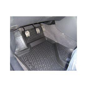 SIXTOL Gumové koberce Ford Tourneo Custom (pouze přední) (12-) (3D) SIXTOL