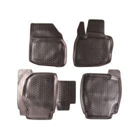 SIXTOL Gumové koberce Honda Civic VIII Hatchback (FD1/2/7 FA1 FG1/2 FA5 FK FN) (06-11) (2D) SIXTOL