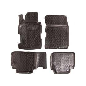 SIXTOL Gumové koberce Honda Civic VIII Sedan (FD1/2/7 FA1 FG1/2 FA5 FK FN) (06-11) (2D) SIXTOL