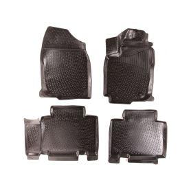 SIXTOL Gumové koberce Toyota RAV4 IV (XA40) (13-) (3D) SIXTOL