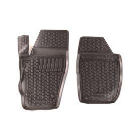 SIXTOL Gumové koberce Škoda Roomster I Praktik (5J8) (pouze přední) (2-sedadla) (06-) (2D) SIXTOL