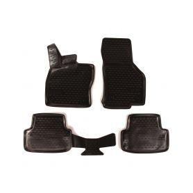 SIXTOL 3D Gumové koberce SEAT Leon, 2012-, Typ 5F SIXTOL