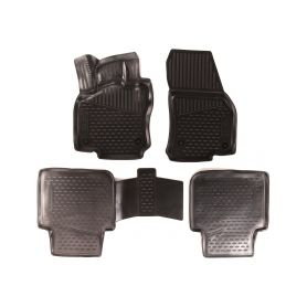 SIXTOL HBC10878 3D Gumové koberce VOLKSWAGEN Tiguan Allspace, 2016-, 5dv., 5/7 sedadel Auto koberce Volkswagen