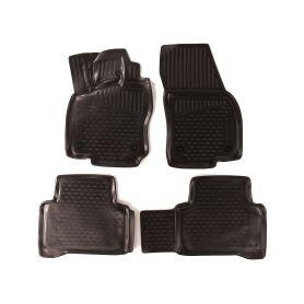 SIXTOL HBC10881 3D Gumové koberce VOLKSWAGEN Touran II, 2015-, 5 sedadel, minivan Auto koberce Volkswagen
