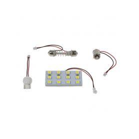 Malé žárovky  1-912m01 912M01 žárovka 12V (R10W) BA15S bílá
