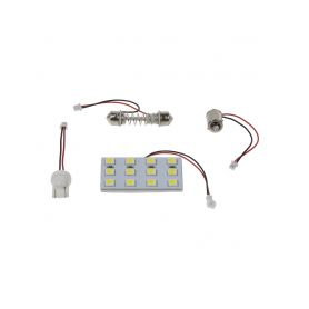 Malé žárovky  1-912m01 žárovka 12V (R10W) BA15S bílá 912M01