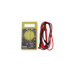EXTOL-CRAFT EX600011 Multimetr digitální (U, I, R), s akustickou signalizací Multimetry