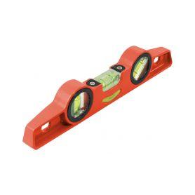 EXTOL-PREMIUM EX8823890 Vodováha kovová s magnety, 250mm, přesnost 1mm/1m, 3 libely 0°, 45° a 90° Vodováhy, teploměry a stativy