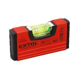 EXTOL-PREMIUM EX8823891 Vodováha kapesní, 100mm Vodováhy, teploměry a stativy