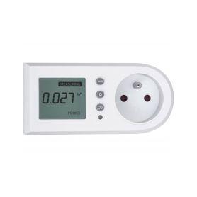 EXTOL LIGHT Měřič spotřeby el. energie - wattmetr, měří kW, kWh, CO2 EXTOL-LIGHT