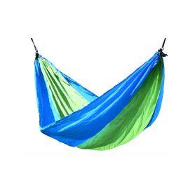 CATTARA Houpací síť NYLON 275x137cm zeleno-modrá CATTARA 4-13566