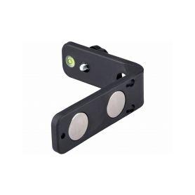 """EXTOL-CRAFT EX92323 Držák L-typ magnetický na laser/kameru, 1/4"""" šroub Vodováhy, teploměry a stativy"""