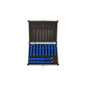 GEKO G01242 Soustružnické nože, sada 11ks, 12x12mm, uloženo v kufru Ostatní el. nářadí