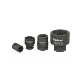 """FORTUM Hlavice nástrčná rázová, 3/4"""", 17mm, L 52mm, CrMo FORTUM 4-ex4703017"""