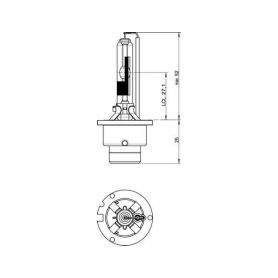 CarClever OSRAM 12V D3S 35W xenarc (1ks) 1-os66340