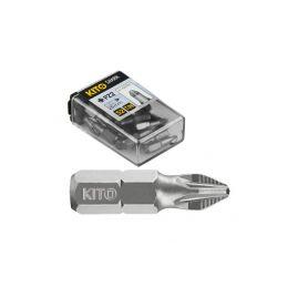 KITO EX4810211 Hroty, sada 20ks, PZ 1x25mm, S2 Bity