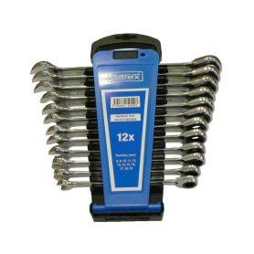 NAREX NA443100593 Sada klíčů 12dílná ráčnových plast. držák DIN3113, 443100593 Ráčnové