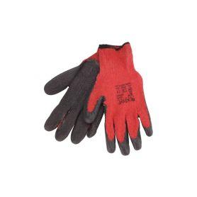 """EXTOL-PREMIUM EX8856640 Rukavice bavlněné polomáčené v LATEXU, velikost 8"""" Pracovní rukavice"""