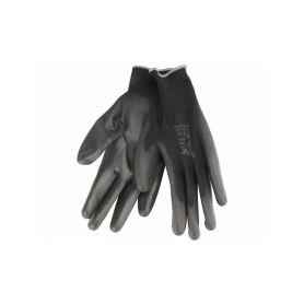 """EXTOL-PREMIUM EX8856638 Rukavice z polyesteru polomáčené v PU, černé, velikost 11"""" Pracovní rukavice"""