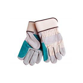"""EXTOL-CRAFT EX9966 Rukavice kožené silné s podšívkou v dlani, 10"""", velikost 10"""" Pracovní rukavice"""