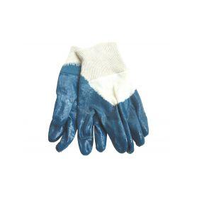"""EXTOL-CRAFT EX9977 Rukavice bavlněné polomáčené v nitrilu, 8"""", velikost 8"""", dámské, náplet Pracovní rukavice"""