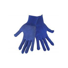 """EXTOL-CRAFT EX99713 Rukavice z polyesteru s PVC terčíky na dlani, velikost 8"""" Pracovní rukavice"""