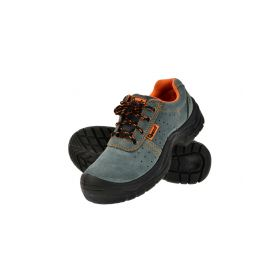 GEKO G90521 Ochranné pracovní boty semišové model č.3 vel.41 Pracovní obuv