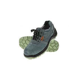GEKO G90529 Ochranné pracovní boty semišové model č.4 vel.39 Pracovní obuv