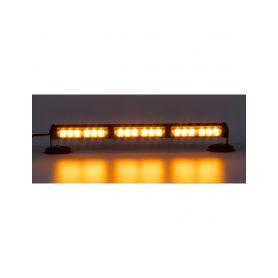 KF755-3 LED světelná alej, 18x LED 1W, oranžová 500mm, ECE R10 Vnitřní