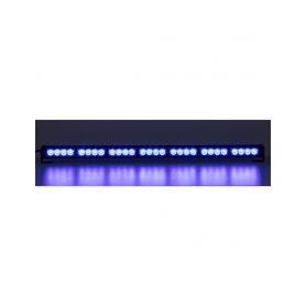 KF756-7BLU LED světelná alej, 28x LED 3W, modrá 800mm, ECE R10 Vnitřní