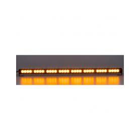 KF756DI-8 LED světelná alej, 32x 3W LED, oranžová s displejem 910mm, ECE R10 Vnitřní