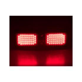 KF801RED PREDATOR dual LED vnitřní, 12V, červený, 320mm Vnitřní LED predátory