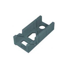 EXTOL PREMIUM Přípravek na řezání úhlů plastový, 300x140x70mm, úhly řezu 45° a 90° EXTOL-PREMIUM