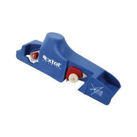 EXTOL-PREMIUM EX8847150 Hoblík na sádrokarton, plastové tělo, ocelové břity (1ks) Dláta, pilníky a hoblíky