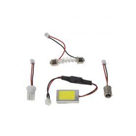 COB LED panel 22x27mm 12-24V, 18LED/0,5W 1-95p18cob