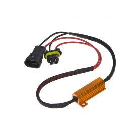 LEDR-21HB4 Rezistor pro žárovku HB4, H10 12V/21W, 6 ohm , hliníkové pouzdro Rezistory, eliminátory