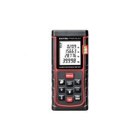 EXTOL-PREMIUM EX8820043 Metr laserový digitální, 0,05-80m Laserová měřidla