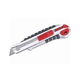EXTOL-PREMIUM EX8855015 Nůž ulamovací s kovovou výstuhou a zásobníkem, 18mm Auto-lock Pracovní nože