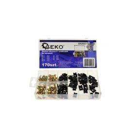 GEKO G02923 Sada 170 šroubků a podložek Montážní materiál drobný