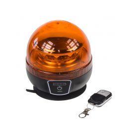 AKU LED maják, 12x3W oranžový, dálkové ovládání, magnet, ECE R65 - 1