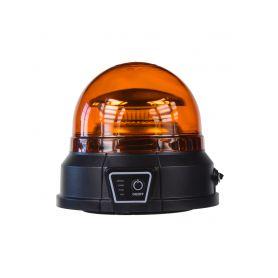 AKU LED maják, 45x0,5W oranžový, magnet, ECE R65 - 1
