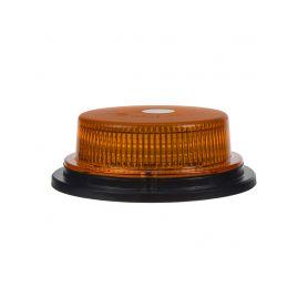 LED maják, 12-24V, 18x1W oranžový, pevná montáž, ECE R10 - 1