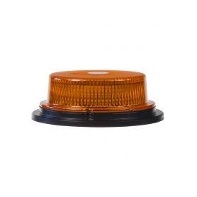 WL80M LED maják, 12-24V, 18x1W oranžový, magnet, ECE R10 LED magnetické