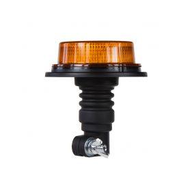 WL80HR LED maják, 12-24V, 18x1W oranžový, na držák, ECE R10 Majáky na tyč