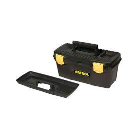 """EXTOL-CRAFT EX78812 Kufr na nářadí 15"""" ERGO, 385x190x170mm, plastový Pásy, tašky a kufry na nářadí"""