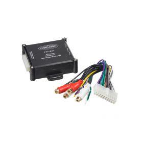 PC1-607 4 kanálová redukce repro/CINCH Odrušovací filtry/převodníky