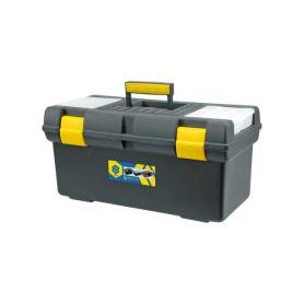 """TOYA TO-78813 Box na nářadí plastový 20"""", 2 zámky Pásy, tašky a kufry na nářadí"""