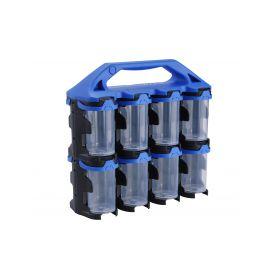 EXTOL-CRAFT EX78904 Organizér modulový přenosný, 16 modulů, PP Kufry a pořadače nářadí